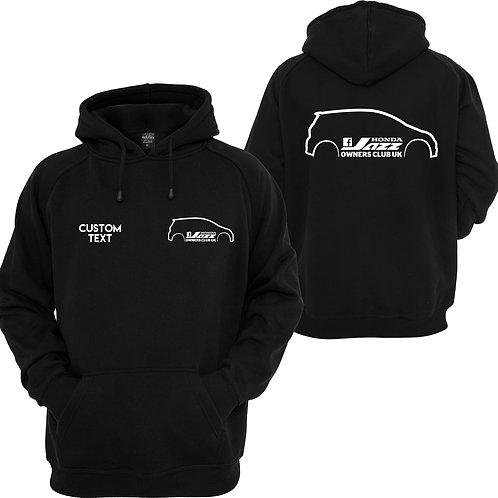 Honda Jazz owners club hoodie