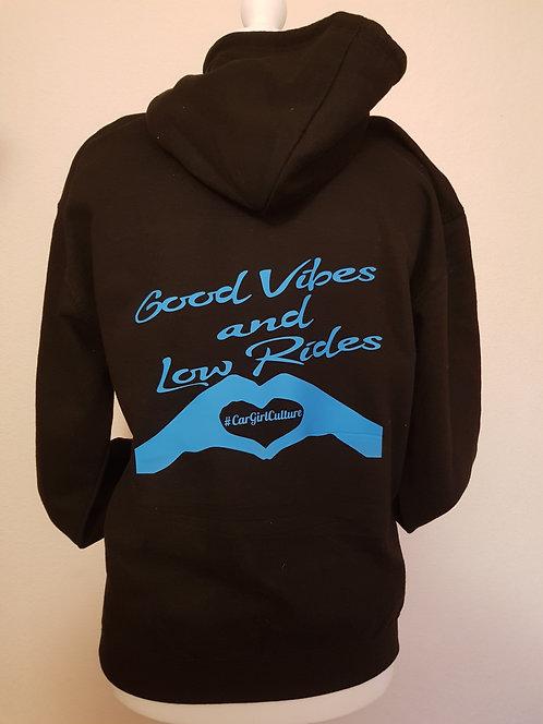 Good vibes & low rides Kids hoodie