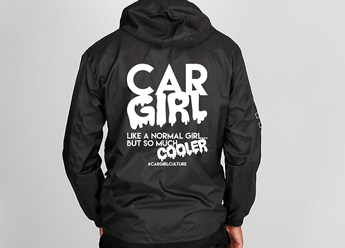 Car girls are cooler windbreaker