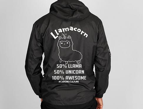 Llamacorn windbreaker