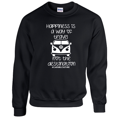 Happiness is a way of travel jumper