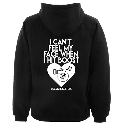 I can't feel my face hoodie