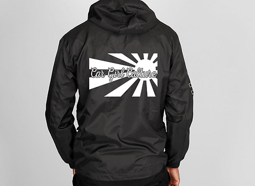 Rising sun windbreaker