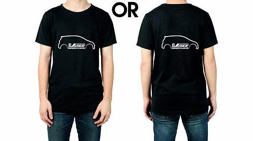 Honda Jazz owners club Tshirt