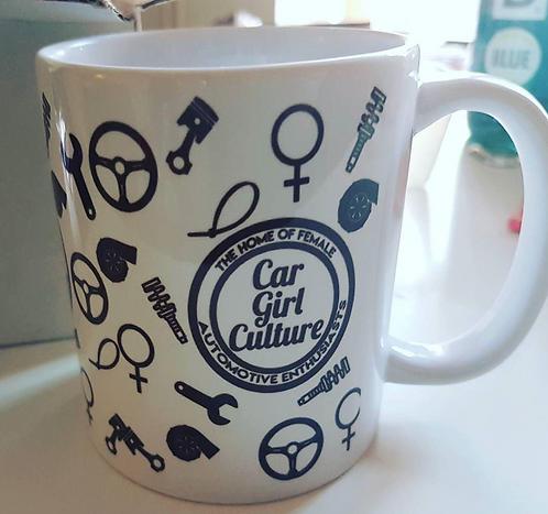 Car Girl Culture Mug