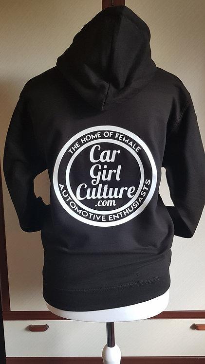 Circle logo kids hoodie