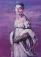 'melancholy IV'  acrylic on canvas