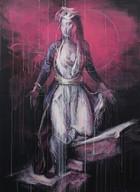 'melancholy III'  acrylic on canvas