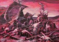 'melancholy II'  acrylic on canvas