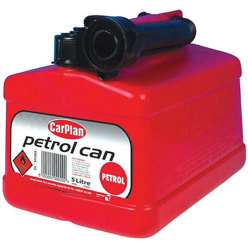 Carplan Tetracan Red Fuel Jerry Can 5L