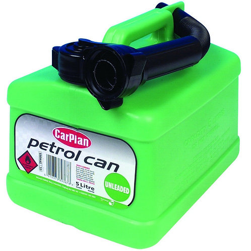 Carplan Tetracan Unleadded Green Jerry Can 5L