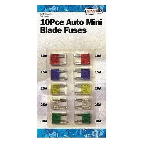 Mini blade fuses 10pc