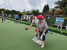 Katlene and Ian both on mat.jpg