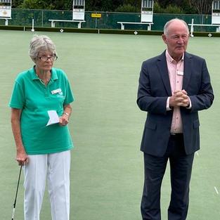Norma Klaassen and Bob Kent