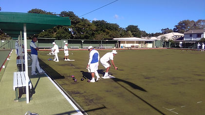 Beautiful day for bowls