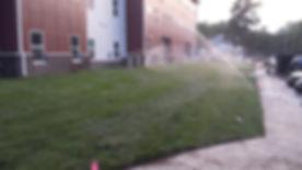 bethany college sprinkler and irrigation system