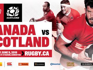 Scotland Vs Canada~Antediluvians Vs Calgary Cobras-June 9, 2018