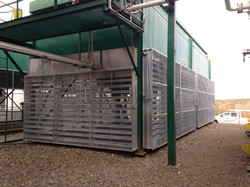 Screens Louvers Natural Gas Compression