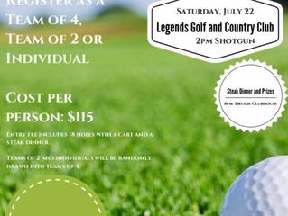STRATHCONA DRUIDS Rugby Football Club 3rd Annual Golf Tournament Fundraiser