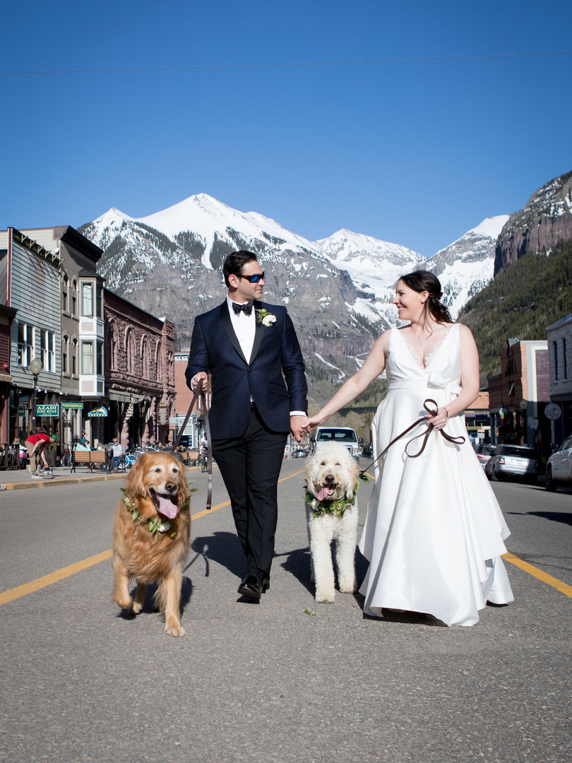Bride and Groom - telluride-wedding-phot