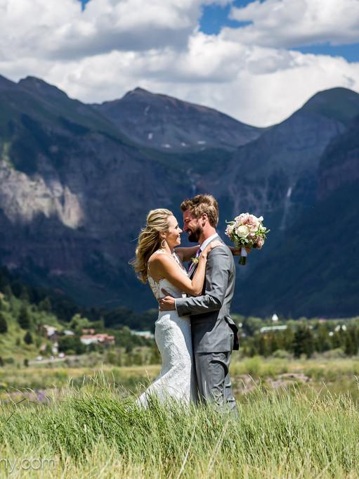 Gorgeous Bride Groom Shot - Yager.jpg