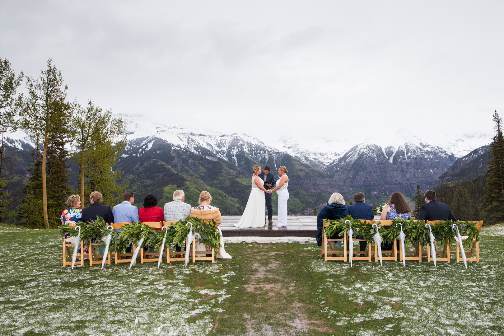 Ceremony of Kendall and Elizabeth - real