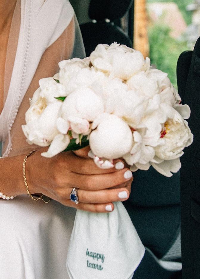 Wedding Ceremony - Joy Peony Bouquet - A