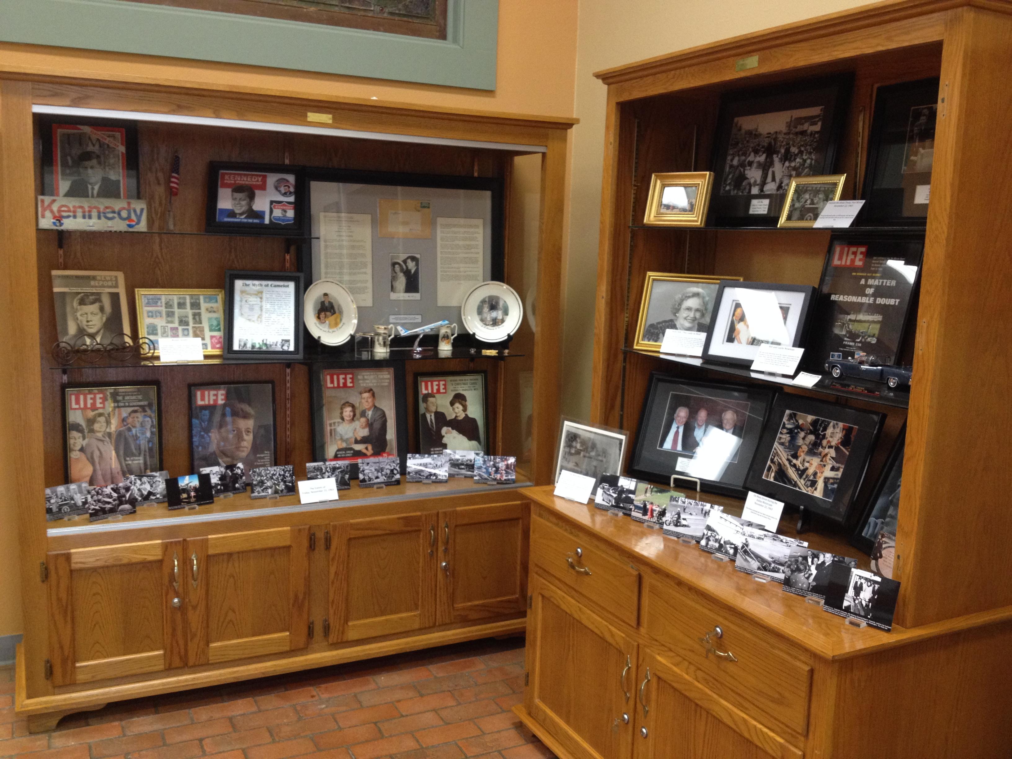 Our JFK Exhibit at Morton Museum