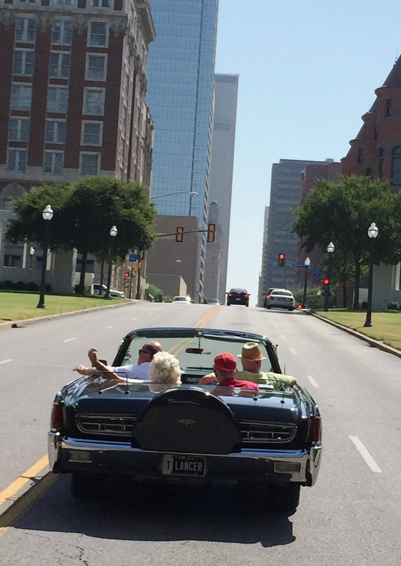 Dallas Motorcade Route