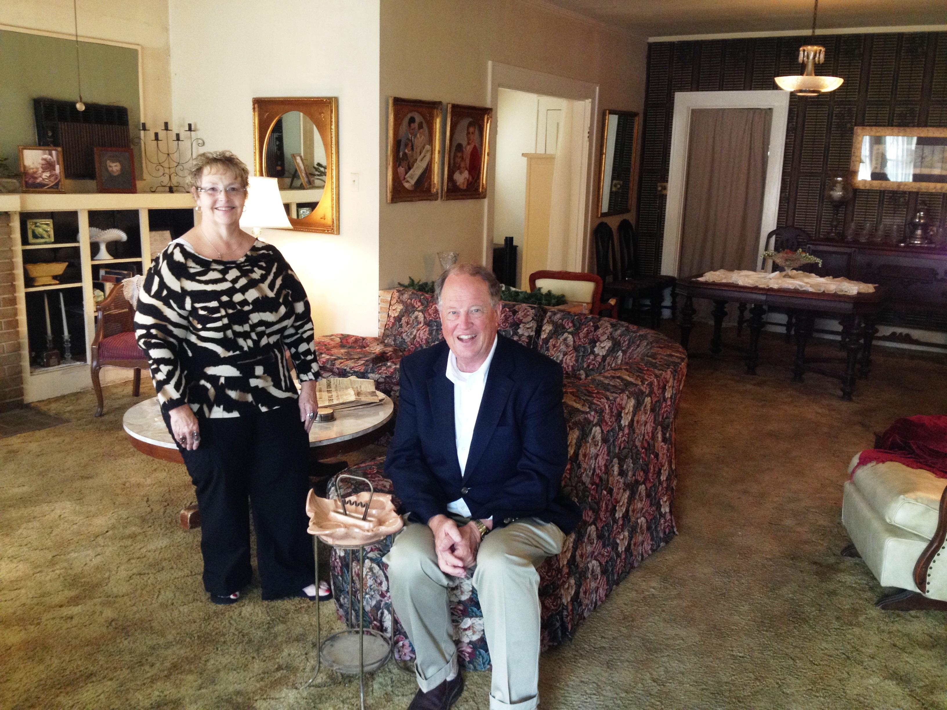 Pat Hall and Robin