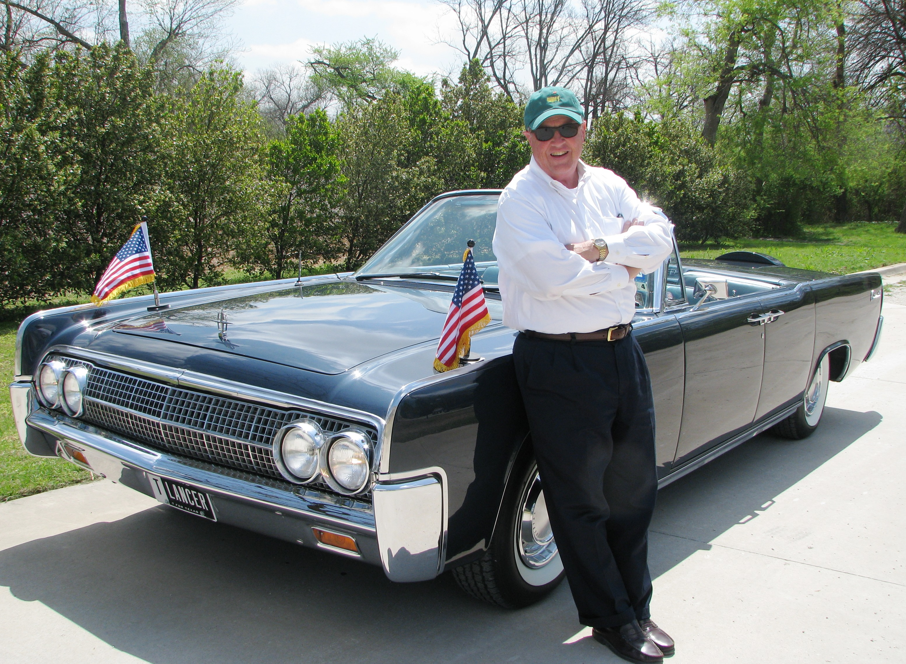 Robin Brown and his Kennedy Car