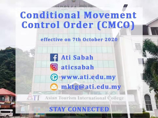 Conditional Movement Control Order (CMCO)