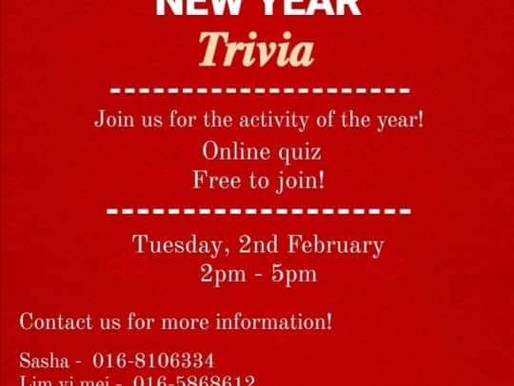 Chinese New Year Trivia Quiz