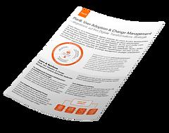 PlanB. Adoption & Changemanagement OnePager