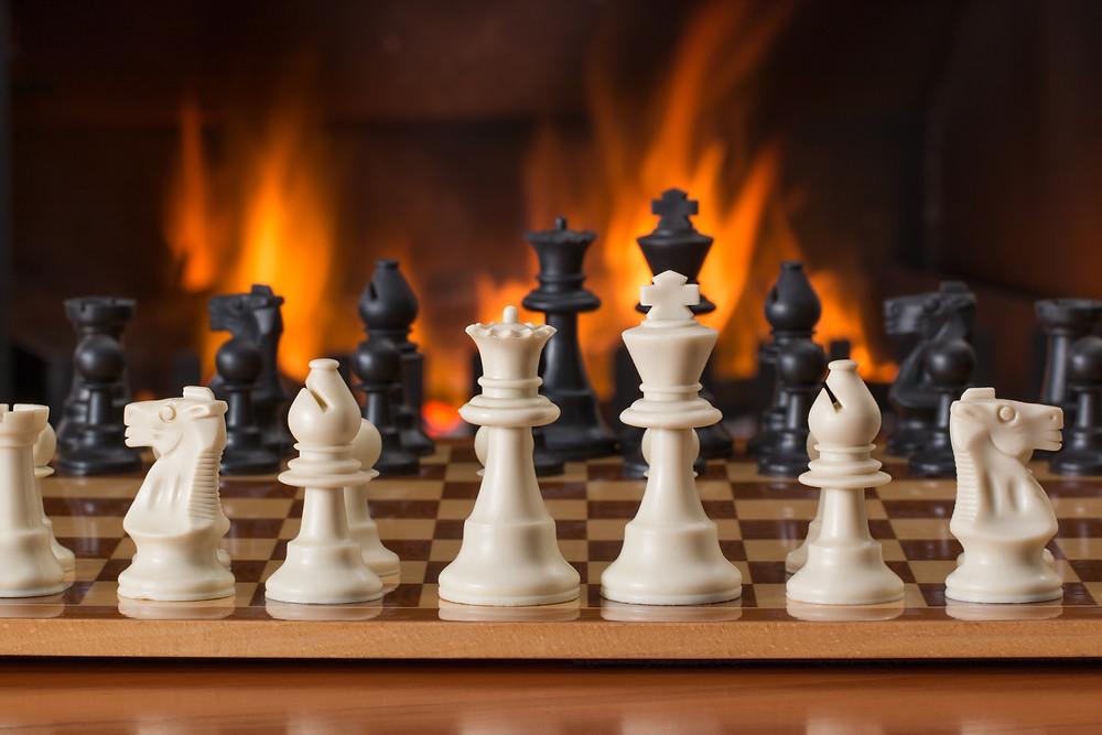Beim Revenue Management musst du deine Konkurrenten analysieren: Sinnbild, Schach