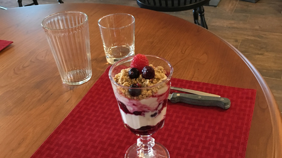 Mixed Berry Parfait