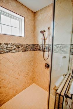 Shower closeup