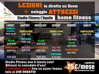 orario home fitness 2020