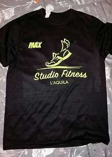 Studio Fitness maglia