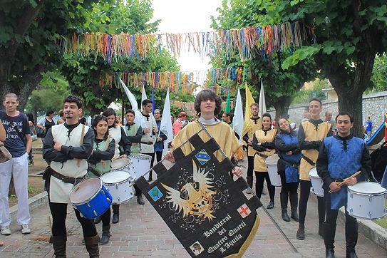 40° Festival del Folkore, Bandierai dei Quattro Quarti