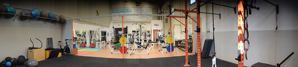 sala pei studio fitness L'Aquia