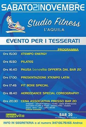 Primo evento StudioFitness L'Aquila