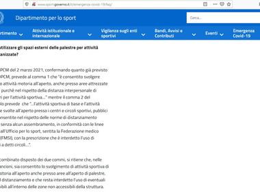 FAQ -dipartimento per lo sport.jpg