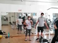 Sala pesi interna Studio Fitness L'Aquil