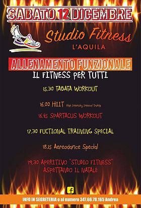 Secondo evento StudioFitness L'Aquila