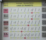 linee autobus per raggiungere Studio Fitness L'Aquila
