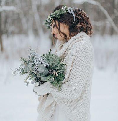 Quelle tenue pour mon mariage hivernal?