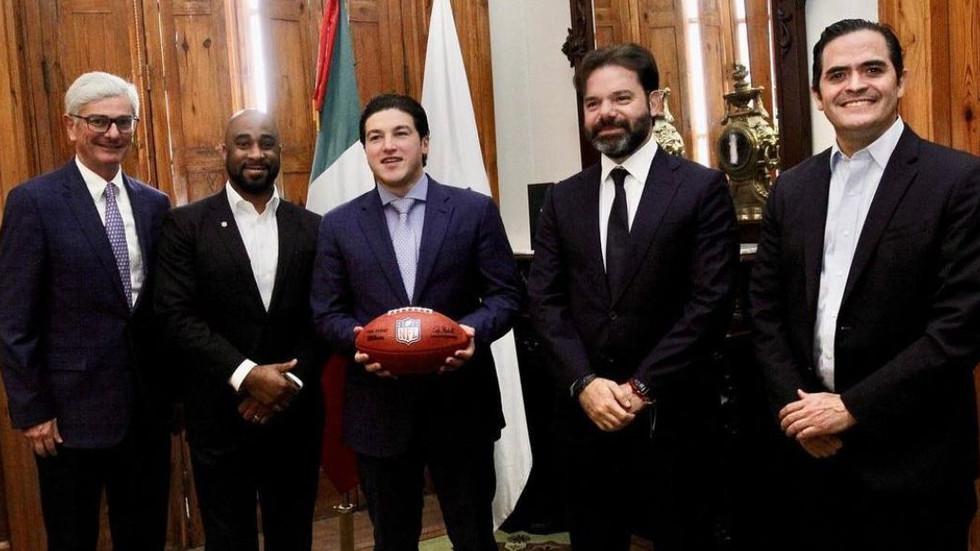 SAMUEL GARCIA ANUNCIA NUEVO ESTADO Y NUEVOS PARTIDOS DE NFL.