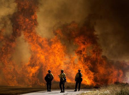 Evacuan hospital por nuevo incendio forestal