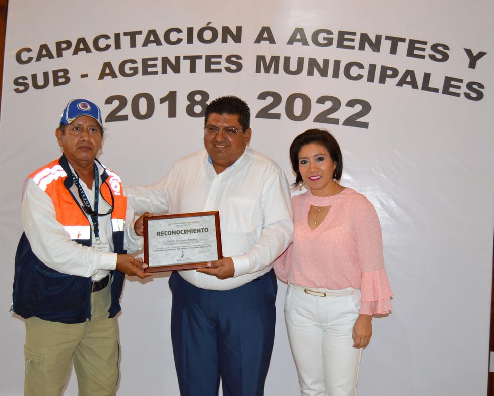Capacitan a Agentes y Subagentes municipales